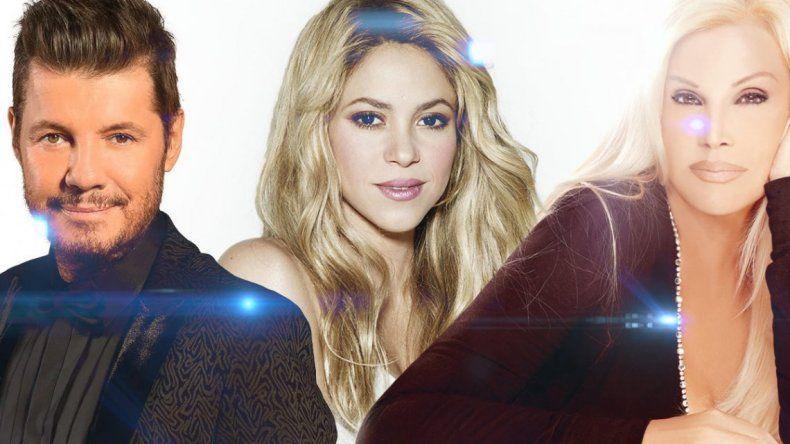 La guerra entre Marcelo Tinelli y Susana Giménez por Shakira