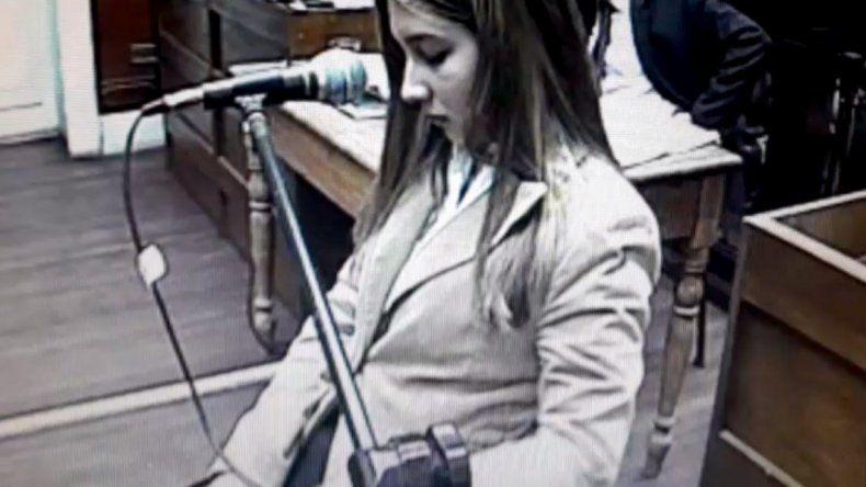 Nahir Galarza fue condenada a prisión perpetua