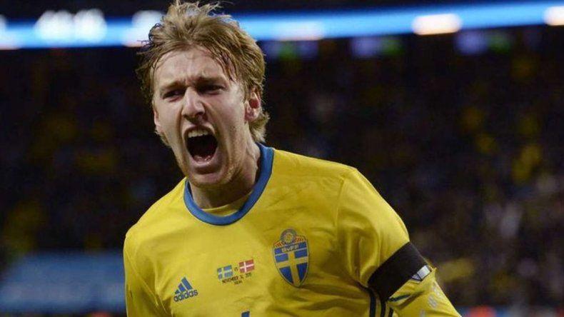 Suecia pasó a cuartos gracias a un gol en contra