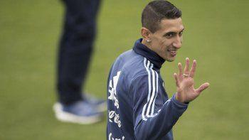 Di María, de 30 años, quiere jugar el Mundial de Qatar 2022.