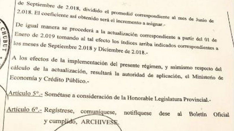 Ingresó a la Legislatura el decreto de un aumento para los docentes