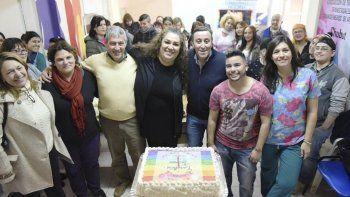 El consultorio Baudracco cumplió ya un año como  espacio inclusivo de la salud