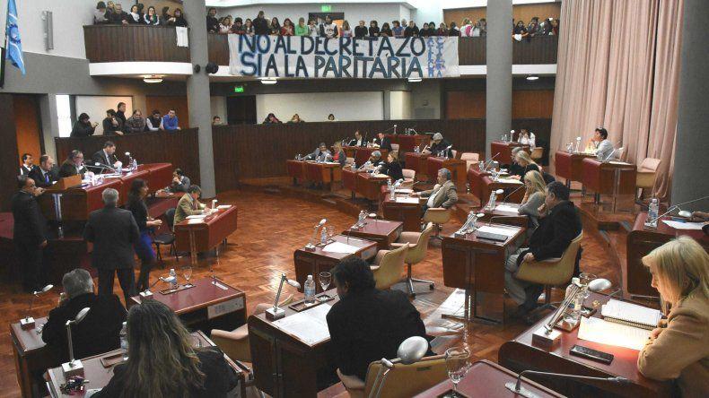 Ingresó a la Legislatura el decreto  de aumento salarial a los docentes