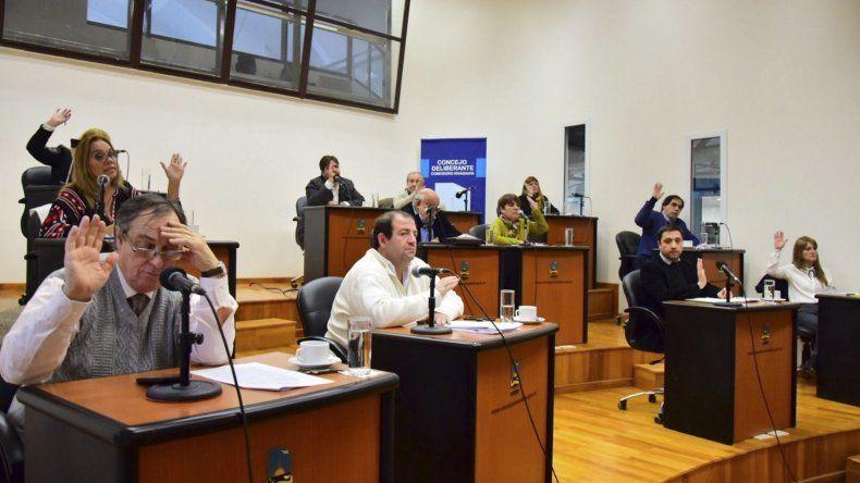 En la sesión de ayer se aprobó el cupo laboral para personas trans en el ámbito municipal.