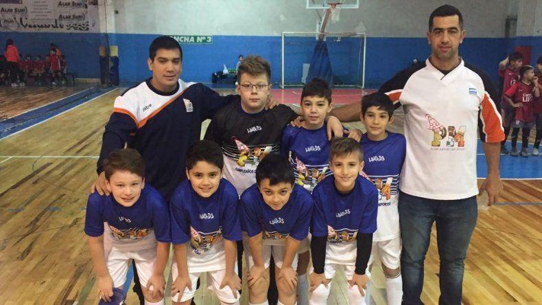 Los chicos formaron parte de una nueva etapa del certamen de futsal de la CAI.
