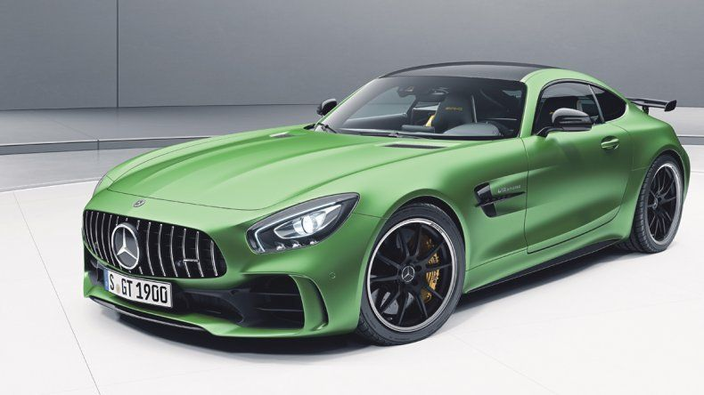 Mercedes Amg GT R Chasis C190: Desembarcó un superdeportivo