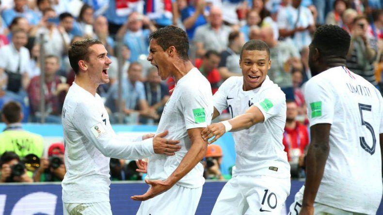 Francia superó a Uruguay