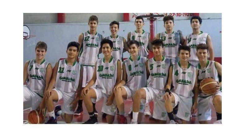 Equipo U15 de Gimnasia.
