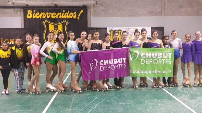 Patinadoras de Puerto Madryn y Trelew representarán a Chubut en el Nacional de Patín Artístico.
