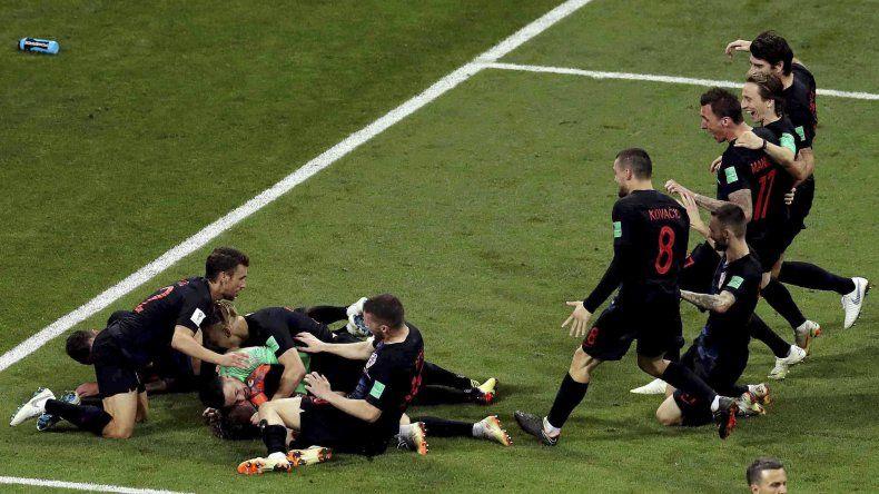 El conjunto croata volvió a salir airoso de los penales y dejó afuera al conjunto anfitrión.