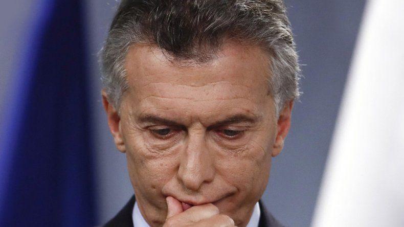 Según una encuesta, el  60% rechaza a Macri