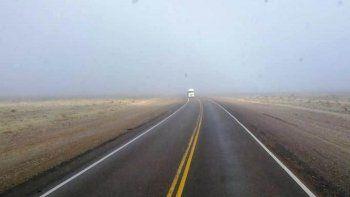 Rutas transitables con precaución en Chubut y Santa Cruz