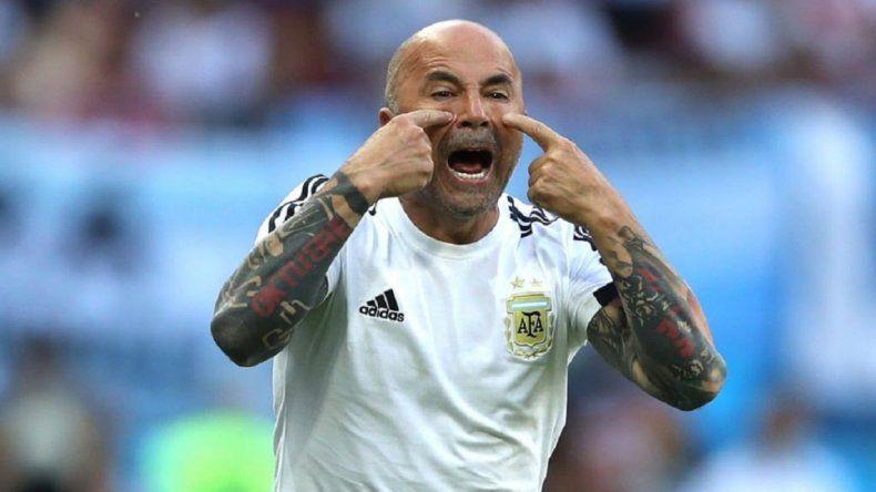 Jorge Sampaoli continuará en la Selección Argentina