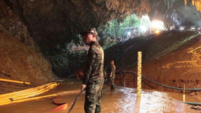 Los chicos y el entrenador fueron rescatados de la cueva en Tailandia