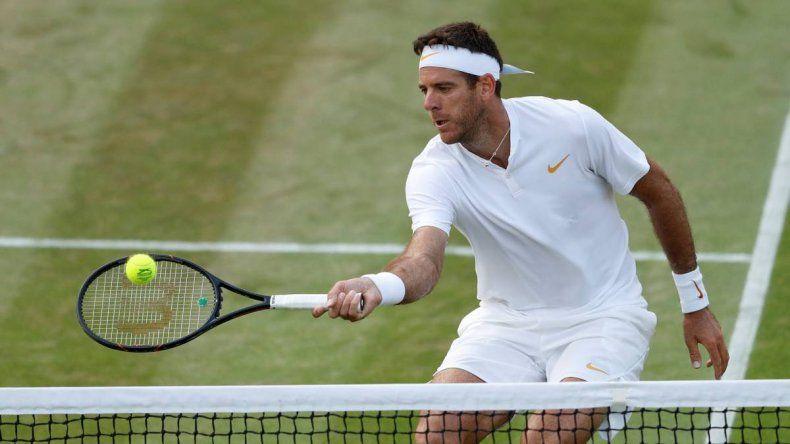 Del Potro ganó y jugará con Rafael Nadal en cuartos de final