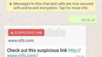 whatsapp agrega una caracteristica para que no puedan estafarte