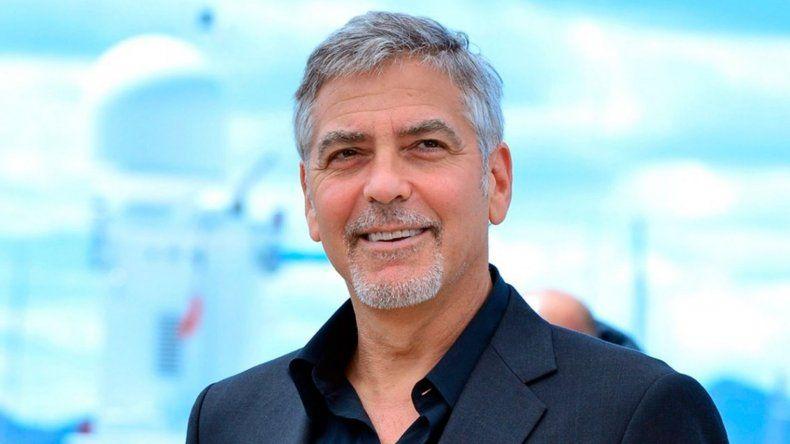 George Clooney, internado tras sufrir un accidente en Italia