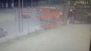 insolito: dejaron la puerta abierta de un blindado y se robaron 1 millon de pesos
