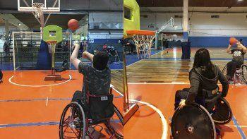 El básquet adaptado suma un nuevo espacio todos los viernes en la CAI.
