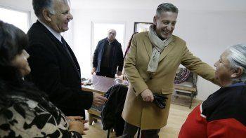 Arcioni resaltó el progreso de la localidad. Es el tercer año consecutivo en que asiste a la fiesta de aniversario.