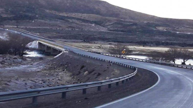 Así se encuentran las rutas de Chubut y Santa Cruz este jueves