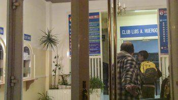 las camaras no registraron el robo en el club huergo porque apuntaban al techo