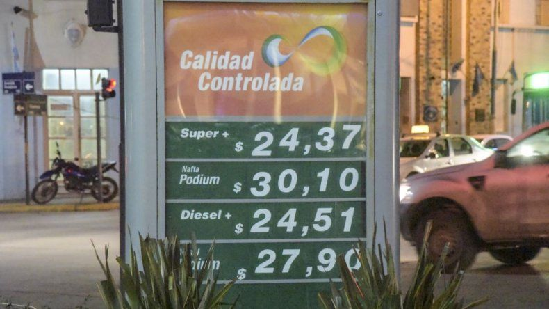 Siguen los aumentos de combustible