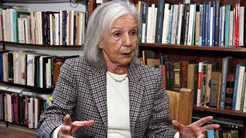 Beatriz Sarlo: el país que dejará Macri va a ser peor que el que dejó Menem