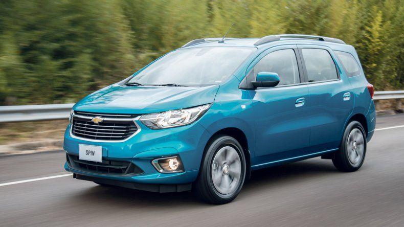 Chevrolet Spin: Redobla la apuesta en vehículos familiares