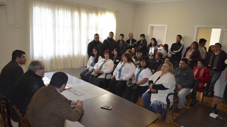 El Gobierno provincial entregó matrículas a cooperativas de Comodoro Rivadavia
