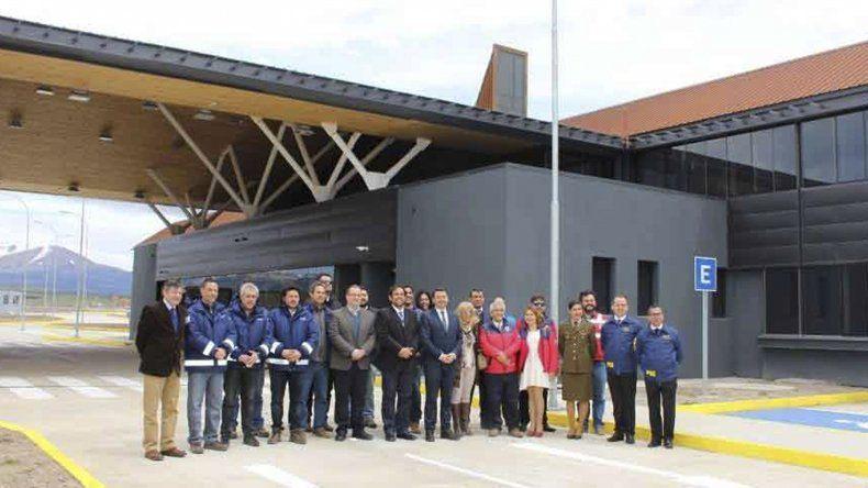 El centro de control integrado Huemules se encuentra en el acceso a la localidad de Balmaceda.