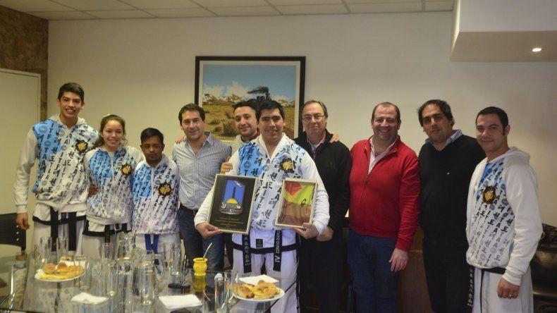 El equipo participa en campeonatos sudamericanos y panamericanos