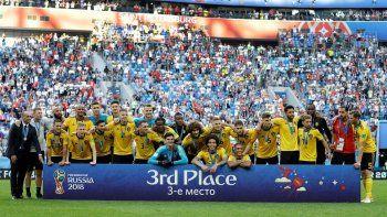 Los belgas ganaron con autoridad y fueron merecedores del tercer puesto en Rusia 2018.