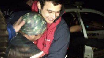 rescataron a dos atletas atrapados en el cerro 21