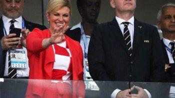 el lado oscuro de la presidenta croata