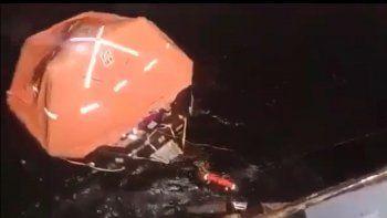 estremecedor testimonio de un tripulante del buque hundido
