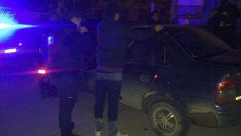 El conductor armado fue detenido en el pasaje Los Patos del barrio Newbery.