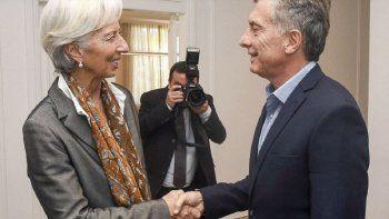 El viernes, por primera vez desde que se firmó el acuerdo con el FMI, llegará al país Christine Lagarde.