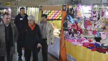 La Expo Invierno fue inaugurada ayer y permanecerá habilitada hasta el domingo en el Colegio San José Obrero.