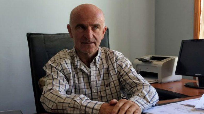 Alejandro Garzonio está preocupado por el recorte que sufrirá Chubut