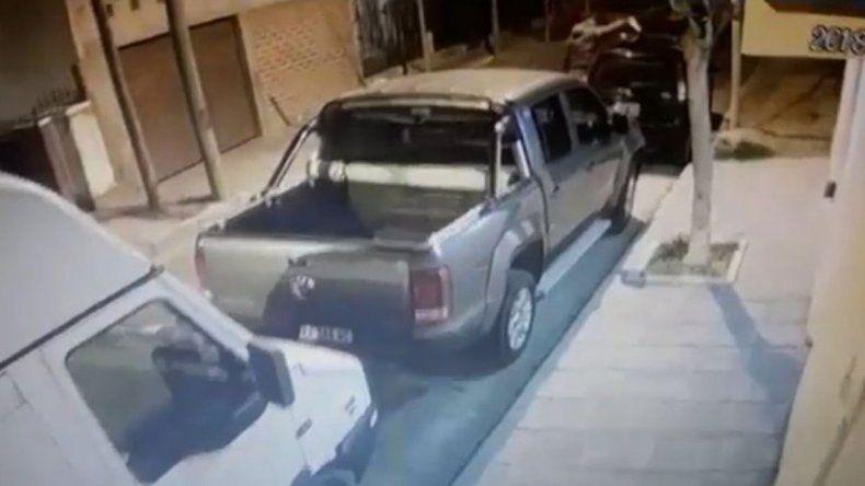 Le cortó los frenos del auto a su exmujer y quedó filmado