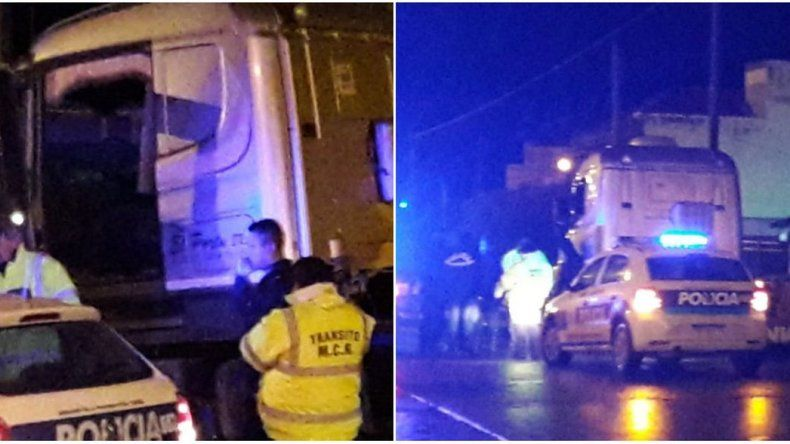 Un conductor alcoholizado en un camión protagonizó un accidente