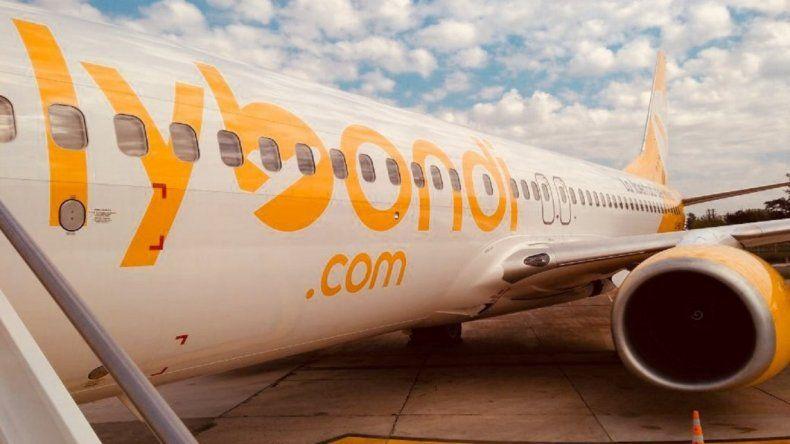 Un fiscal pidió suspender todos los vuelos de la low cost Flybondi