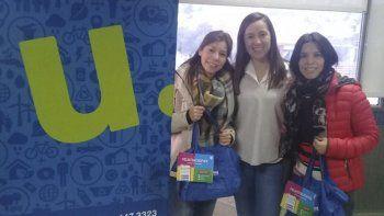 Urbana premió a los ganadores del juego online Atrapá y Separá