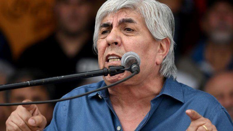 Hugo Moyano: este Gobierno es gorila y antiobrero
