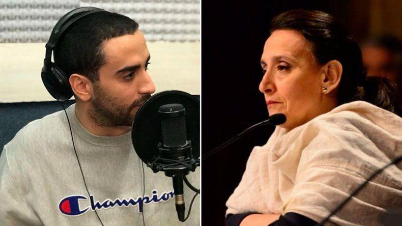 El hijo de Gabriela Michetti se pronunció a favor del aborto legal