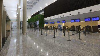 reclamaron por las condiciones laborales en el aeropuerto