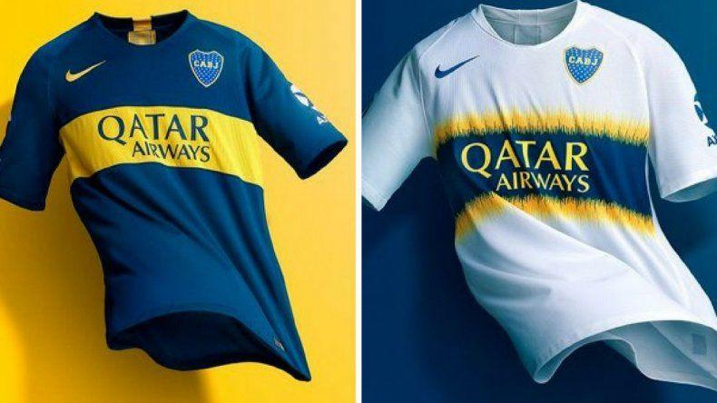 Conocé las nuevas camisetas de Boca Juniors