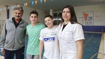 Mario Vozza: la natación está  en un proceso de crecimiento