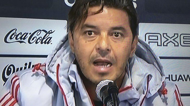 Marcelo Gallardo aseguró que su cabeza está puesta en River.